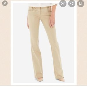 The Limited Cassidy Fit Color Tan Dress Pants Sz 6